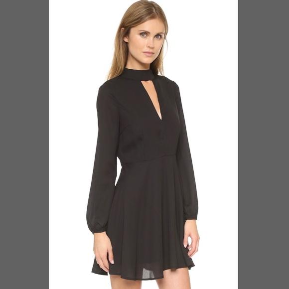 7913947a7ab1 Urban Outfitters Dresses | Nwot Love Sadie Black Longsleeve Mockneck ...